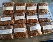 Low Gluten No Sugar Seasonal Persimmon Bars or Sweet Bread* Set of 8