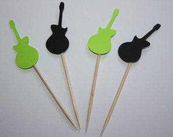 24 mini food picks -  Rock and Roll Guitar