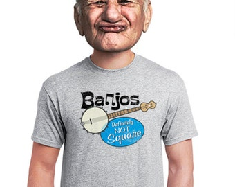 banjo t-shirt, banjo shirt, banjo fan, bluegrass t-shirt, banjo, clawhammer banjo, banjo gift, country music tee, t-shirt for a musician
