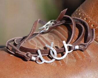 The Original Double Horseshoe bracelet