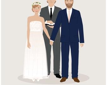 Custom Portrait features movie theme celebrity theme