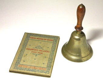 Vintage Baldwin's Readers First Year Book - circa 1897
