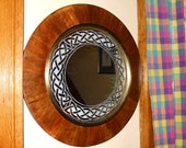 Round Celtic Knot Mirror