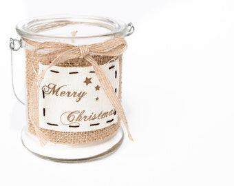 Vintage style, Christmas scented candle, Your choice of fragrance