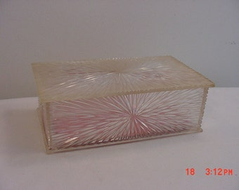 Vintage Celebrity Plastic Jewelry Box  16 - 197