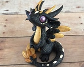 Gold and Black Angel Dragon