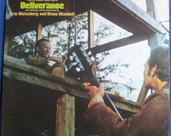 DUELING BANJOS Original Soundtrack of DELIVERANCE Lp 1973 Vinyl Record Album