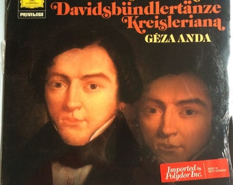 SEALED ROBERT SCHUMANN Davidsbundlertanze Kreisleriana Lp 1967 Original Vinyl Record Album Mint