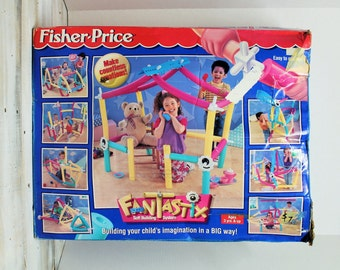 1996 Fisher Price Fantastix, Soft Building Systerm