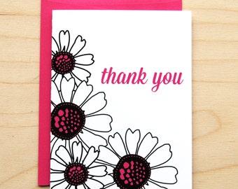 Thank You Daisy Cards
