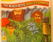 "The Beach Boys Vintage Album Record 1960s Surf Pop Rock Greatest Hits 2LP Vinyl ""Endless Summer""(Original 1974 Capitol Records - No Poster)"