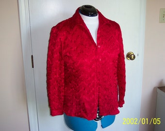 Red Milano Blouse