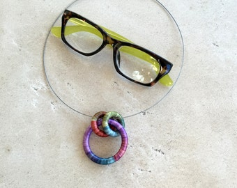 Eyeglasses Holder Necklace Harvest