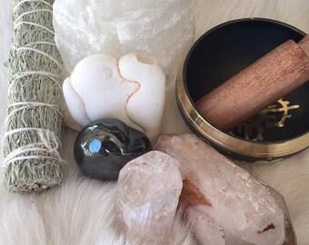 Celestial Goddess Altar Kit- 7 pieces
