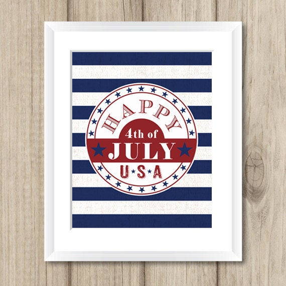Fourth Wall Art Gallery Lewiston : Th of july printable fourth by