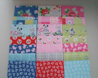 Strawberry Biscuit Fabric Fat Quarter Bundle