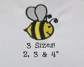 Buy 1 Get 1 Free!  Bumble Bee Embroidery Design Small Bumble Bee Embroidery Mini Bumble Bee Embroidery Design Machine Embroidery Digital Des