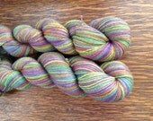 Pastel Rainbow, 6 Color Stripey... Canon Hand Dyes Bruce Yak Self Striping Sock Yarn
