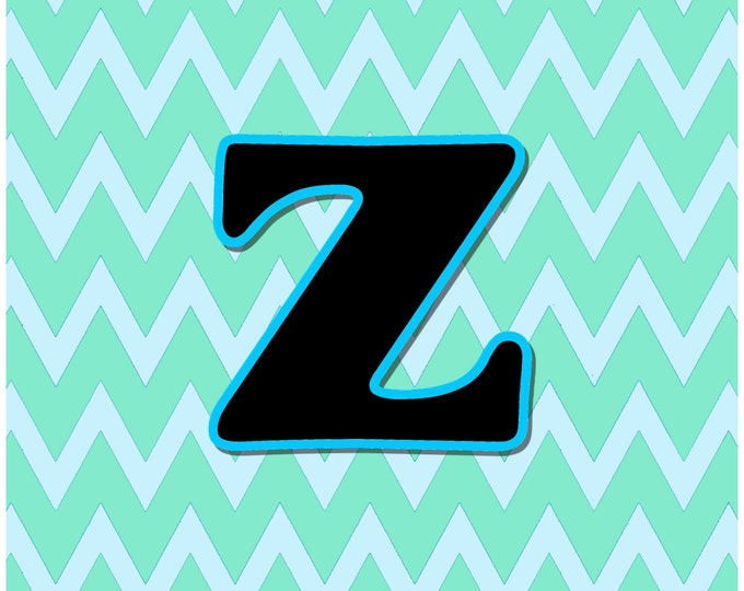 Letter Z Digital Download