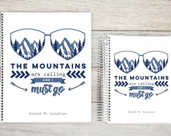 Most Popular Student Planner | Weekly Student Planner | Student Daily Planner | Student Homework Planner | Academic Planner | mountains