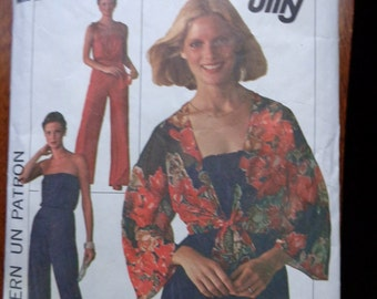 Jiffy Jumpsuit Sewing Pattern Simplicity 7748 Size 12