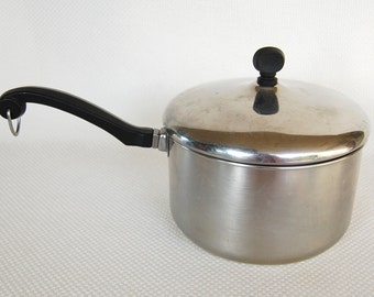 Vintage Copper Tea Kettle Solid Copper Made By