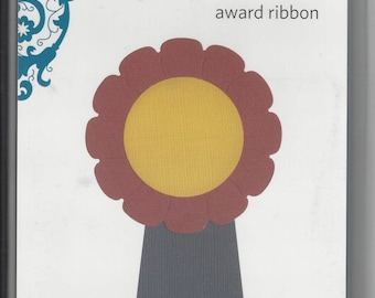 AWARD RIBBON Metal Die QuicKutz Revolution Scrapbooking Card Making REV 0040 Fits Cuttlebug and Sizzix New in Package