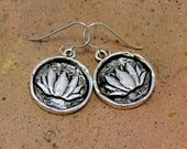 Lotus Flower Yoga Earrings