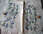 HOLD RESERVED for A Only both sheets of appliques (Ref:  A-3129 Box 3)