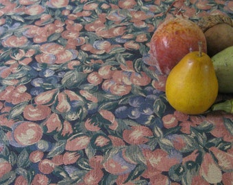 Upholstery Fabric / Vintage Designer Textiles / Commercial Weight Upholstery Fabric