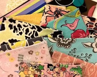 Cash Only Budget Designer Fabric Envelopes