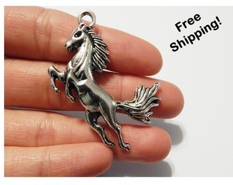 Set of 5 - Large Horse Charms