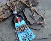 Around the Fringe Necklace