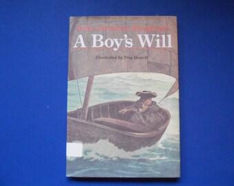 A Boy's Will, a Vintage Children's Book by Erik Christian Haugaard