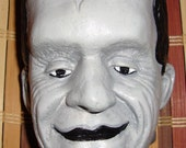 Herman Munster Wall Plaque Bust