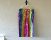 Girls size small tie dyed pants