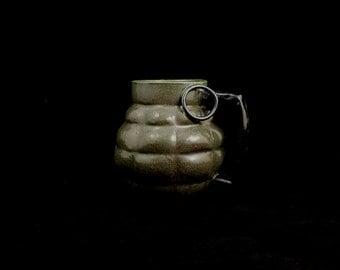 Stoneware Grenade Mug