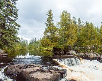 Photo of Manitou River Falls - North Shore, MN