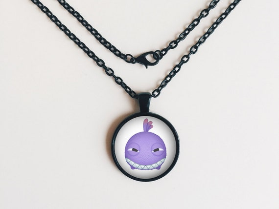 Randall from Monsters Inc. Tsum Tsum Necklace or Keychain