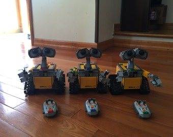 1x Customize RC Lego 21303 Wall-E, Disney Pixar (Lego Ideas) Remote Control