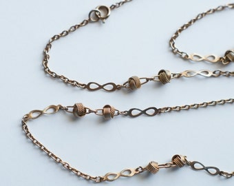 Vintage Love Knot Layering Necklace