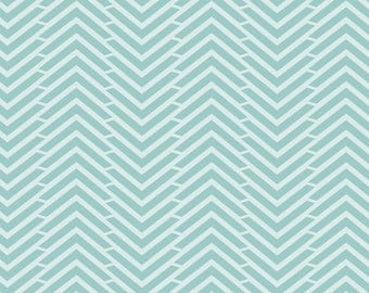 Fabric,Aqua houndstooth fabric, fabric by the yard