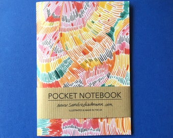 Notebook, Jotter, Mini Sketchbook | Pattern 6