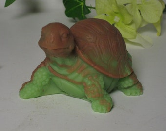 large turtle soap glycerin soap scented in sage & citrus