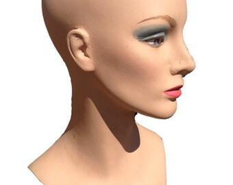 Vintage FASHION TRESS, INC. Mannequin Head