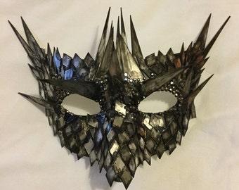 Dragon Armour Venice Carnival Mirror Mask