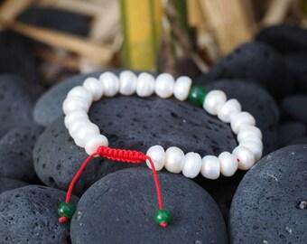 GMS-76Tibetan Pearl Wrist Mala/ Bracelet for meditation GMS-76