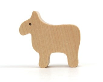 Sheep Figurine Wooden Sheep Toy Waldorf Wood Country Farm Animal Toy Wood Toy Sheep Maple