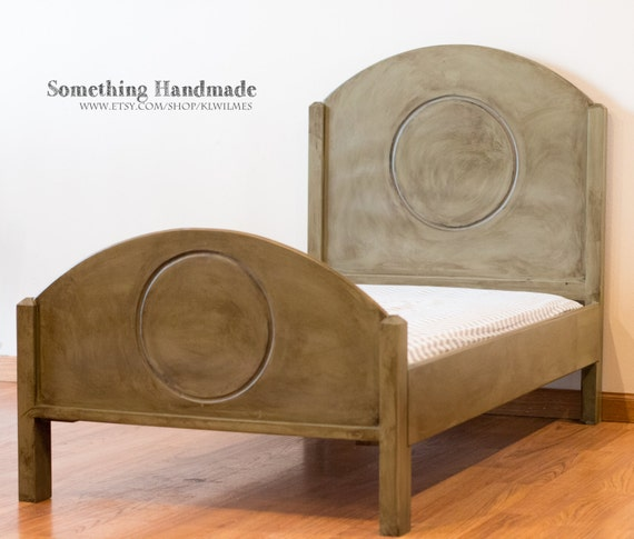 Toddler Bed Handmade You Choose Color And Finish Antiqued
