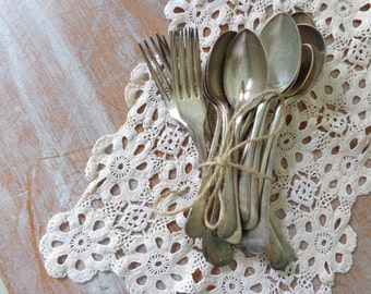 Vintage Collection of Phoenix Silverplated Flatware - 17 pieces